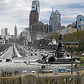 Ben Franklin Parkway by Eric Nagy