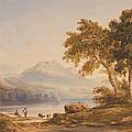 Ben Vorlich And Loch Lomond by Anthony Vandyke Copley Fielding