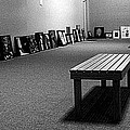 Bench Alone In Pre-show Gallery by Daniel Thompson