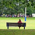Bench Thoughts by Valentino Visentini