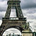 Beneath The Eiffel Tower by Jennie Breeze