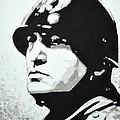 Benito Mussolini by Victor Minca