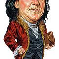 Benjamin Franklin by Art