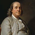 Benjamin Franklin by Joseph-Siffred Duplessis