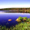 Benjies Lake Cape Breton Island by Thomas R Fletcher