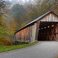 Bennett Mill Covered Bridge by Jack R Perry