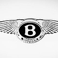 Bentley Emblem -0082c by Jill Reger
