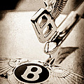 Bentley Hood Ornament - Emblem by Jill Reger