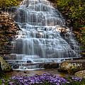 Benton Falls In Spring by Debra and Dave Vanderlaan