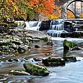 Berea Falls Ohio by Frozen in Time Fine Art Photography