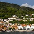 Bergen Harbor by Benjamin Reed