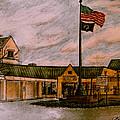 Berks County Jail Main Entrance by Jose A Gonzalez Jr
