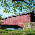 Berks Courty Pa - Griesemer's Covered Bridge by Bill Cannon