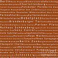 Berlin In Words Toffee by Sabine Jacobs
