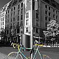 Berlin Street View With Bianchi Bike by Ben and Raisa Gertsberg