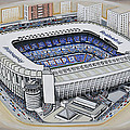 Bernabeu - Real Madrid by D J Rogers