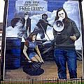 Bernadette Devlin Mural by Nina Ficur Feenan