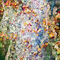 Berries Around The Tree - Abstract Art by Kerri Farley