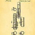 Berteling Flute Patent Art 1868 by Ian Monk