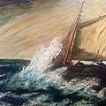 Berts Boat by Judith Desrosiers