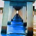 Beside The Cool Blue Waters by Jimi Bush