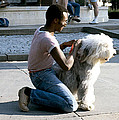Best Friends On Dupont Circle by Walter Oliver Neal