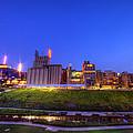 Best Minneapolis Skyline At Night Blue Hour by Wayne Moran
