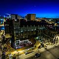 Best Place Blue Hour by Randy Scherkenbach