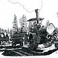 Best Steam Traction Engine by Timothy Livingston