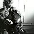 Beth And Oiled Cello by Brad Williams
