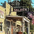 Bethel Saloon In Neon II by E Faithe Lester