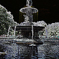 Bethesda Fountain Abstract by Christiane Schulze Art And Photography