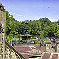 Bethesda Fountain V - Central Park by Madeline Ellis