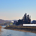 Bethlehem Steel And The Lehigh River by Bill Cannon