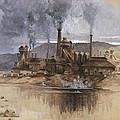 Bethlehem Steel Corporation Circa 1881 by Aged Pixel