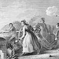 Betsy Doyle A Soldiers Wife Helping by Vintage Images