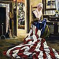 Betsy Ross (1752-1836) by Granger