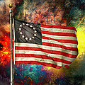 Betsy Ross Flag by Steven Michael