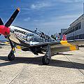 Betty Jane - P-51 Mustang by Kristia Adams
