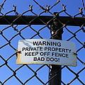 Beware Sign by John Ricard jr