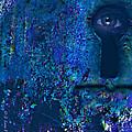 Beyond The Door - Abstract by J Larry Walker