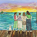 Bff Morning by Janis Lee Colon