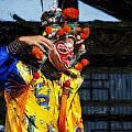 Bian Jiang Dancer Acanthus by David Lange