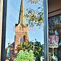 Biblion Used Books Reflections 3 - Lewes Delaware by Kim Bemis