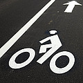 Bicycle Lane by Olivier Le Queinec