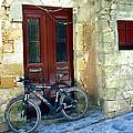 Bicycle Of Santorini by Madeline Ellis