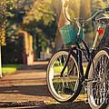 Bicycle On Sunny Street by Konstantin Sutyagin