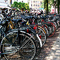 Bicycle Parking Lot by Glenn Aker