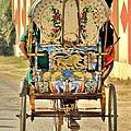 Bicycle Rikshaw - Kumbhla Mela - Allahabad India 2013 by Kim Bemis