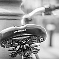 Bicycle Seat.  by Gary Gillette